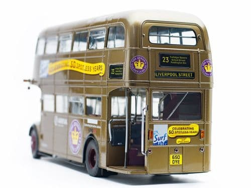 Sun Star H2942 1/24 Scale  London Transport Arriva Routemaster Gold 23 Liverpool St